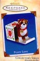 2003 Hallmark PUPPY LOVE Boxer Dog~#13 Christmas Ornament