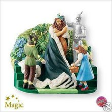 2007 Hallmark KING OF THE FOREST~Wizard of Oz~Christmas Ornament~Sound