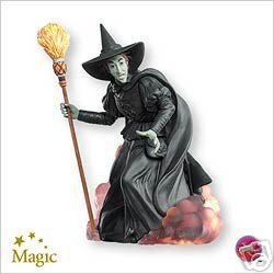 2007 Hallmark THE WICKED WITCH OF THE WEST~Wizard of Oz~Christmas Ornament~Sound