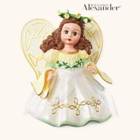 2008 Hallmark FOLLOW YOUR DREAMS ANGEL~Madame Alexander Christmas Ornament