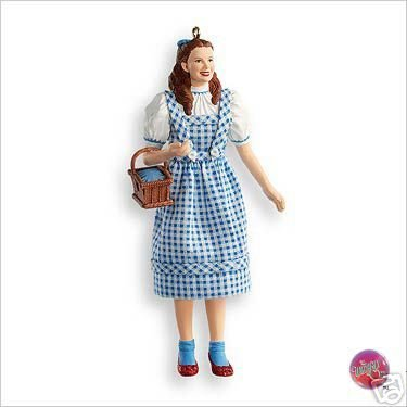 New! 2007 Hallmark DOROTHY Gale~Wizard of Oz~ Christmas Ornament