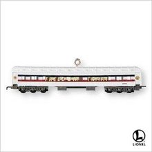 2007 Hallmark Lionel FREEDOM TRAIN SLEEPER Christmas Ornament