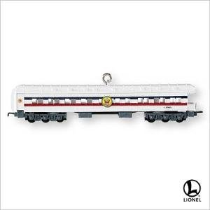 2007 Hallmark Lionel FREEDOM TRAIN OBSERVATION CAR Christmas Ornament