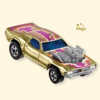 2007 Hallmark RODGER DODGER Hot Wheels Christmas Ornament~Lights up