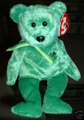 33c879153d0 TY DUBLIN Beanie Baby Bear~NEW Irish St Patrick~March 16