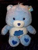 JUMBO GRUMPY BEAR Care Bears~New Plush~2002