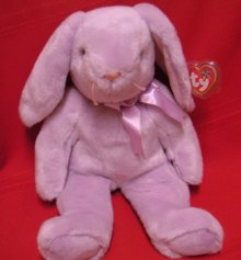 EASTER Ty Floppity Purple Beanie BUDDY  Bunny Rabbit