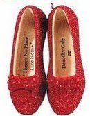 DOROTHY'S RUBY SLIPPERS~Wizard of Oz~Special Ed ~2009 Hallmark Christmas Ornament~