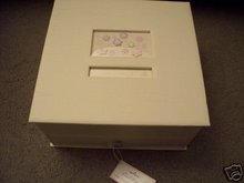 New! Hallmark CARD/Photo Keeper Box with Drawer