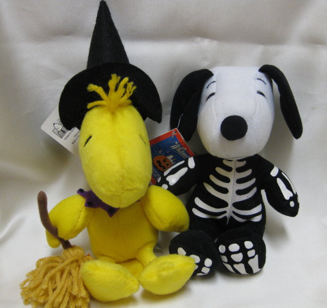 HALLOWEEN Peanuts~SNOOPY & WOODSTOCK~new w/ Tags~Hallmark