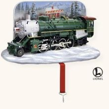 Hallmark 2008 LIONEL Train Christmas Stocking Holder