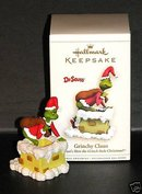 2006 Hallmark GRINCHY CLAUS ~Dr. Seuss Christmas Ornament~