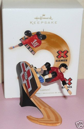 2006 Hallmark SOOPER LOOP Skateboard HOT WHEELS ~Christmas Ornament~