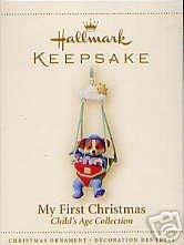2006 Hallmark MY FIRST CHRISTMAS-BOY ~Christmas Ornament~