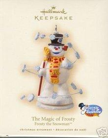 2007 Hallmark THE MAGIC OF FROSTY  the Snowman~Christmas Ornament~