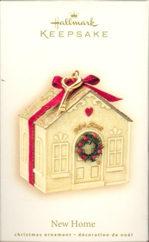 2007 Hallmark NEW HOME ~Christmas Ornament~