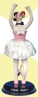 New! MOO MOO in a TUTU~Cow Parade Ballerina Cow Figurine