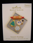 2009 Hallmark SEASON'S TREATINGS Christmas Ornament--1st in series