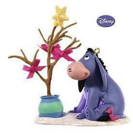 2009 Hallmark A HUMBLE SORT OF CHRISTMAS Ornament~EEyore~Winnie the Pooh Collection