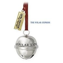 2009 Hallmark Polar Express~SANTA'S SLEIGH BELL Christmas Ornament