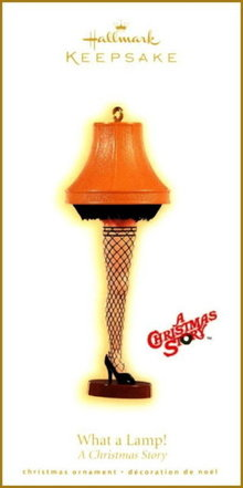 2009 Hallmark WHAT A LAMP! A Christmas Story Ornament