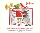 2009 Hallmark Grinch CHRISTMAS MEANS SOMETHING MORE ornament Dr Seuss
