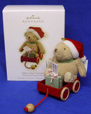 2009 Hallmark BABY'S FIRST CHRISTMAS~CLASSIC Winnie the Pooh Ornament
