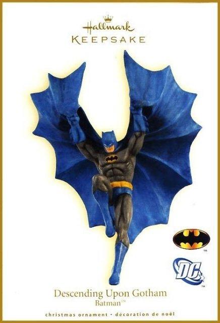2009 Hallmark Batman~DESCENDING UPON GOTHAM Christmas Ornament