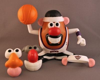 Phoenix Suns MR. POTATO HEAD Toy~NBA Basketball~SGA~NEW!
