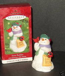 2000 Hallmark SNOW BUDDIES with Cardinal Christmas Ornament
