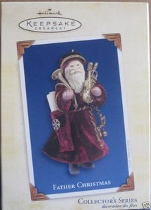 2005 Hallmark FATHER CHRISTMAS Ornament #2 in Series NEW!