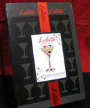 LOLITA Frosty's Going Down~Christmas Candle MARTINI GLASS w/Gift Box