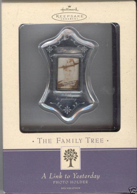 Hallmark Family Tree Photo Holder~Mini Frame~new