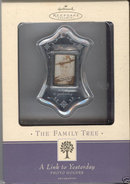 Hallmark Family Tree Photo Holder~Mini Frame~new