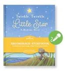 New! TWINKLE TWINKLE Little Star~Hallmark RECORABLE Book Storybook