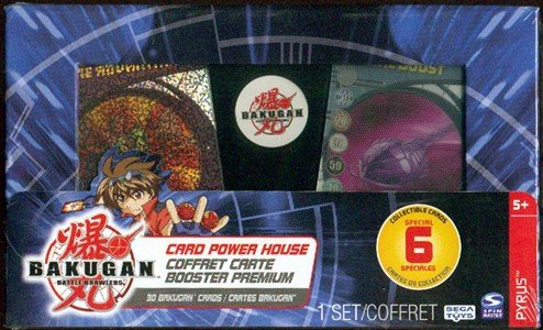 Bakugan Card Power House 30 cards~sealed box