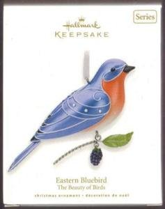 Hallmark 2010 EASTERN BLUEBIRD~Beauty of Birds~#6 Ornament