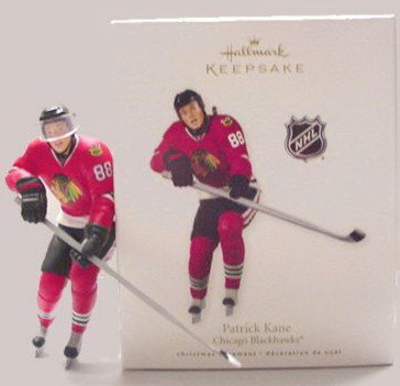 PATRICK KANE Chicago Blackhawks Hockey Hallmark Ornament 2010
