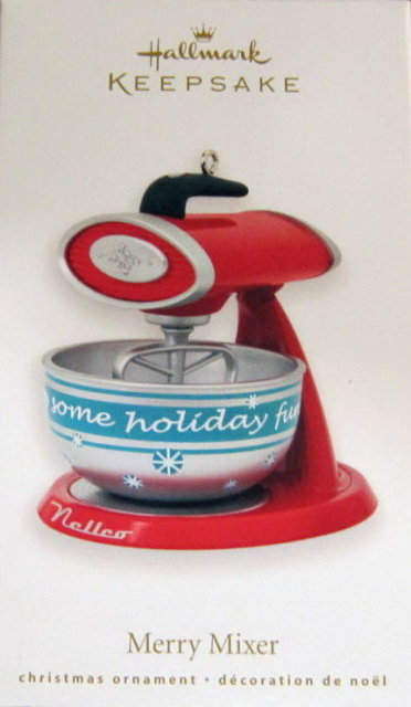 2010 Hallmark MERRY MIXER Christmas Ornament