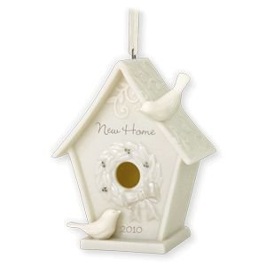 2010 Hallmark Porcelain NEW HOME Ornament