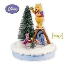 2010 Hallmark DECK THE WOODS! Winnie the POOH ornament ~Sound~ NEW