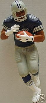 EMMITT SMITH Football Legends #4 Hallmark NFL Christmas Ornament~Cowboys