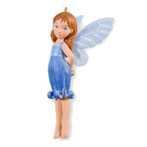 2010 Hallmark BLUEBELL FAIRY Christmas ornament Fairy Messengers #6