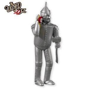 2010 Hallmark TIN MAN Christmas ornament Wizard of Oz