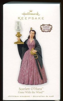 2010 Hallmark SCARLET O'HARA Christmas ornament GONE WITH the WIND