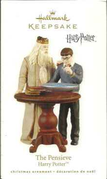 2010 Hallmark Harry Potter THE PENSIEVE Christmas ornament