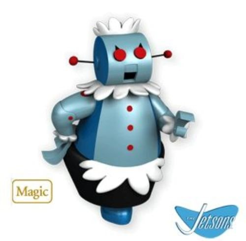 2010 Hallmark ROSIE THE ROBOT Magic Christmas Ornament JETSONS