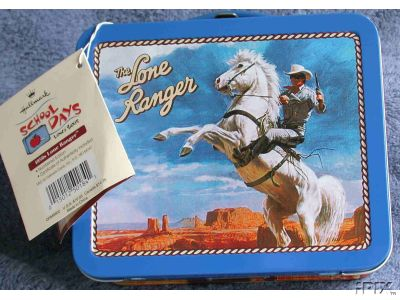 LONE RANGER 1950s Lunch Box Sealed Numbered Hallmark Lunchbox