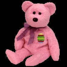 EGGS I Ty Easter Beanie Baby Bear
