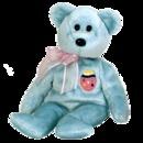 EGGS II Ty Easter Beanie Baby Bear